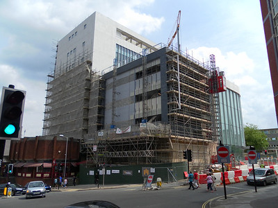 Progress on John Lewis building