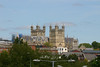 Exeter Cathedral, from St Thomas Station - 1st June 2013