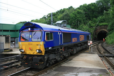 66751 - GBRF ex Rush Rail