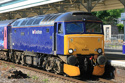 57605 - First Great Western Blue