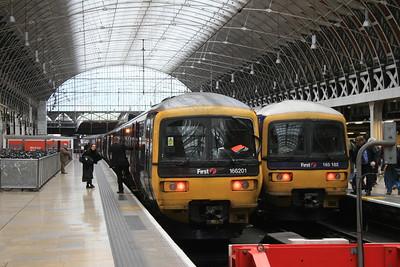 Great Western Railway Class 165 and 166 'Turbo' DMUs