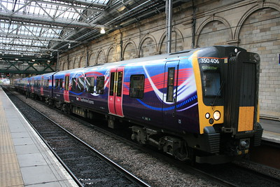 350406 - Trans-Pennine Express dynamic lines