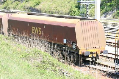 HTA-D EWS bogie coal hoppers - buffer fitted conversions