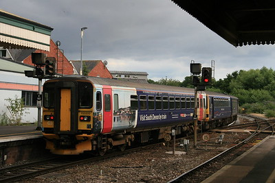 153333 - FGW ex LM / Visit South Devon