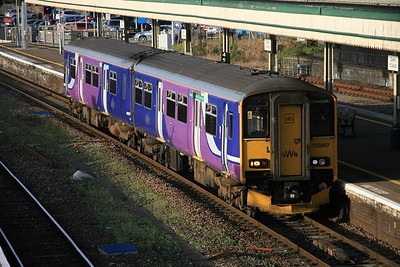 150207 - GWR ex Northern