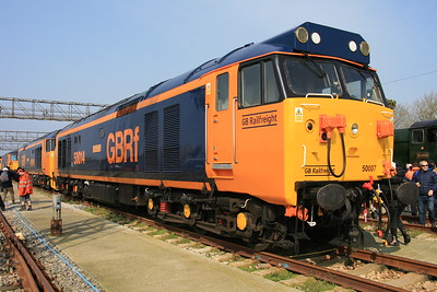 50007 / 50049 in GB Railfreight livery