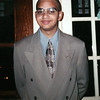 Darryl at dinner before Winter Formal. Year 1999.