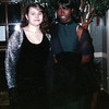 Chastity and Amariah at dinner before Winter Formal. Year 1999.
