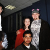 Eli and Meredith (and Darryl and Chastity) on Halloween 1999 at ASMS.