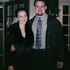 Eli and Meredith at dinner before Winter Formal. Year 1999.