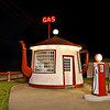"Teapot Gas Station @ Night<br /> <a href=""http://rickwilliamsphotography.blogspot.com/2013/02/teapot-gas-station-night.html"">http://rickwilliamsphotography.blogspot.com/2013/02/teapot-gas-station-night.html</a>"