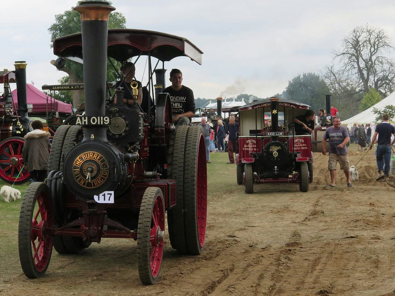 """1913 Burrell Gold Medal Tractor """"Harry"""""""