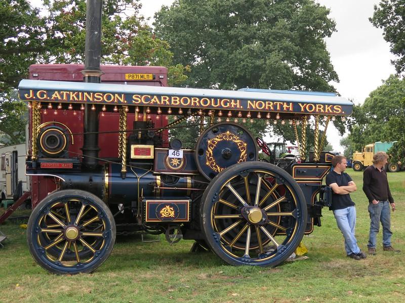 "1918 Garrett 4CD Showman's Tractor ""Princess Maud"""