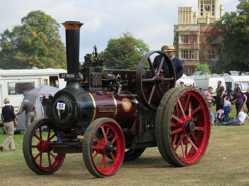 "1910 Allchin Traction Engine ""Evedon Lad"""