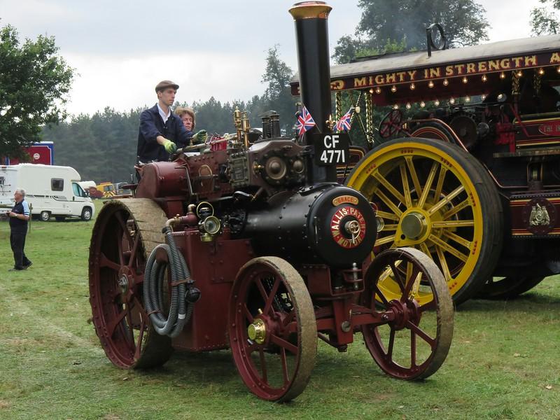 """1923 Wallis & Steevens Oilbath Tractor """"Grace"""""""