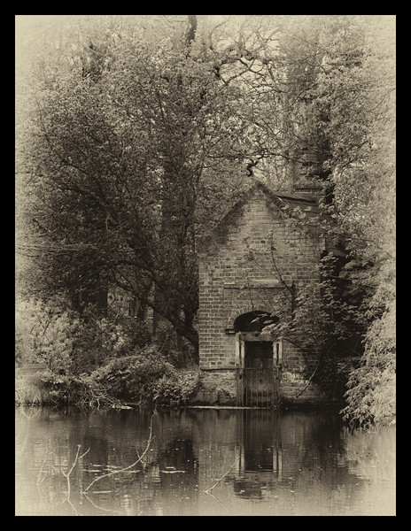 Victorian Pump House in Bushy Park