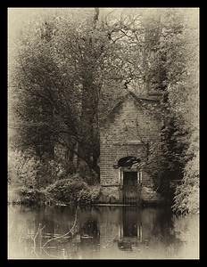Victorian Pump House in Bushy Park