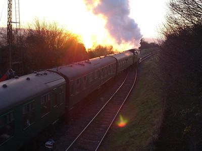 """Christmas Leave"" - Mid Hants Railway"