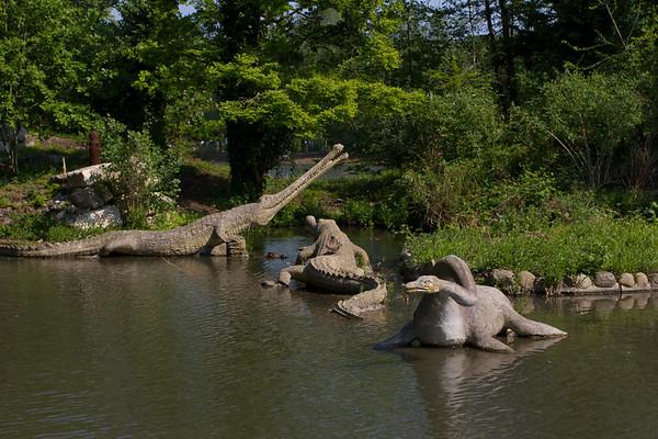 "Crystal Palace Dinosaurs ""Teleosaurus"""