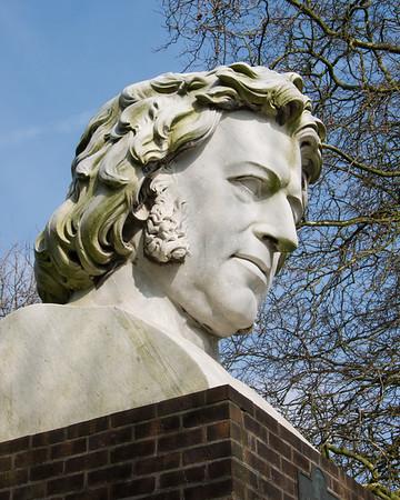 Joseph Paxton Sculpture by William Frederick Woodington