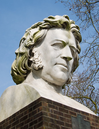 Joseph Paxton Sculpture by William Frederick Woodington