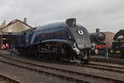 "1937 - Sir Nigel Gresley ""A4 Pacific"" No: 4498 (Once in a Blue Moon)"