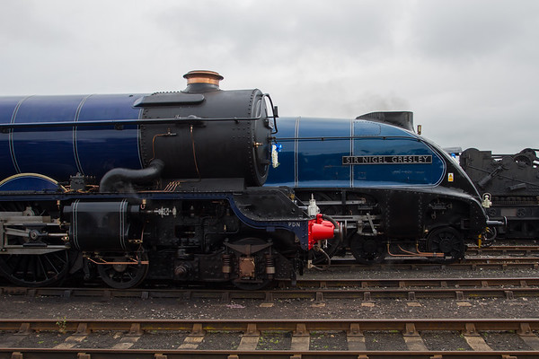"1937 - Sir Nigel Gresley ""A4 Pacific"" No: 4498 and 1930 - King Edward II ""King  Class"" No: 6023 (Once in a Blue Moon)"