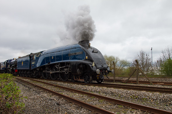 """1937 - Sir Nigel Gresley """"A4 Pacific"""" No: 4498 (Once in a Blue Moon)"""