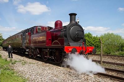 1898 - Metropolitan No 1 - E Class 0-4-4 Tank Locomotive
