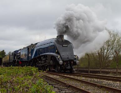 """1937 - Sir Nigel Gresley """"A4 Pacific"""" No: 4498"""