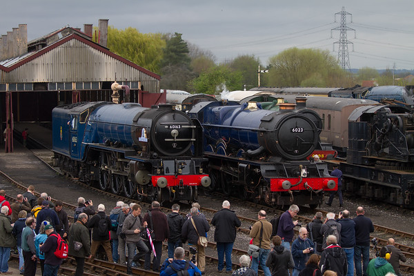 """2008 - Tornado """"Peppercorn A1 Pacific"""" No: 60163 & 1930 - King Edward II """"King  Class"""" Number 6023 (Once in a Blue Moon)"""