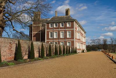 Rear of Ham House