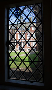 Ham house from the dairy window