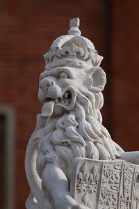 "The Great Gatehouse Statues""Hampton Court Palace"""