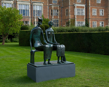 """Henry Moore """"King and Queen"""""""
