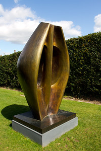"""Henry Moore """"Large Totem Head"""""""