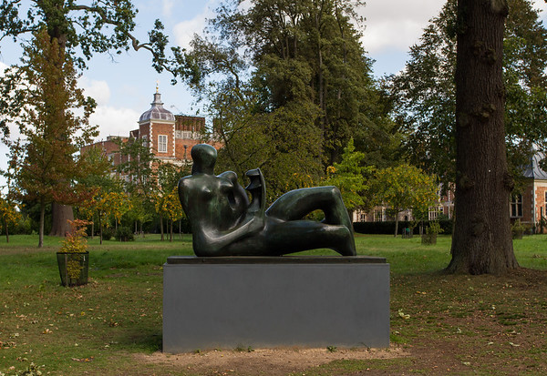 "Henry Moore ""Reclining Mother and Child'"