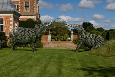 Elephants sculptures by Tom Hill