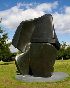"""Henry Moore """"Locking Piece"""""""