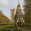 """The Buxton Memorial Fountain in the Victoria Tower Gardens """"The Palace of Westminster"""""""