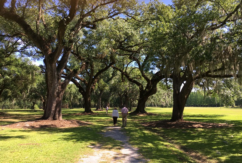 The beautiful grounds of Manresa Retreats, Convent, La.