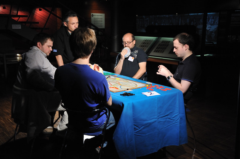 Qualification Round<br /> Ticket to Ride World Championship 2010
