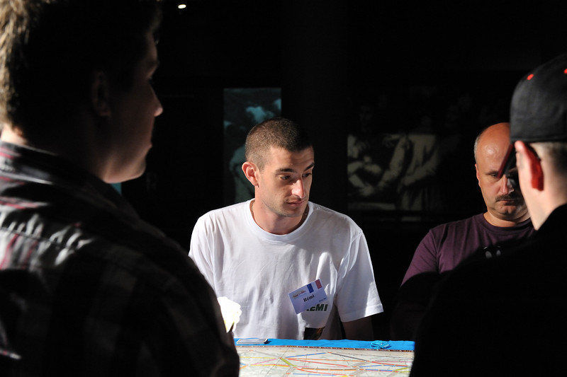 Rémi (FR) during Qualification Round<br /> Ticket to Ride World Championship 2010