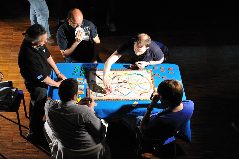 Qualification Round - Table2<br /> Ticket to Ride World Championship 2010