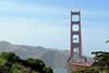 Golden Gate seen from the Presidio