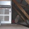 Teki is working in the attic area<br /> <br /> Szerelés a tetőtérben