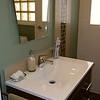 The finished bathroom<br /> <br /> Végül a fürdőszoba