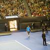 Jo Tsonga, franch tennis player<br /> <br /> Jo Tsonga, francia teniszező