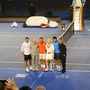 Pat Rafter, Tony Roche, Roger Federer, Rod Laver, Jo Tsonga, Lyton Hewitt