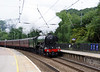 60103 Flying Scotsman passing Keighley with 'The Hadrian' 24th July 2021 (8)